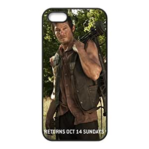 Norman Reedus Daryl Dixon The Walking Dead Design Best TPU Case For Iphone 5 5s iphone5-82904