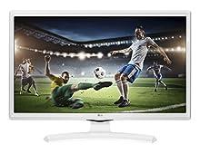 "LG 24TK410VW Pantalla para PC 61 cm (24"") WXGA Plana Mate Blanco - Monitor (61 cm (24""), 1366 x 768 Pixeles, WXGA, 5 ms, Blanco)"