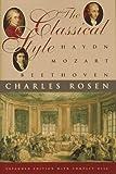 Classical Style, Charles Rosen, 0393040208