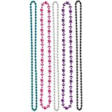 Elegant Mis Quince Aos Party Beads Birthday Party Favours (10 Pack), Multi Color, 30. by TradeMart Inc.