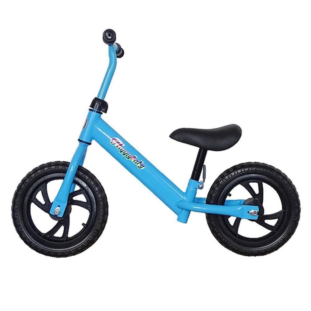 バランス自転車、ランニングバイク、ペダルなし、26年用調整可能ハンドルバーおよびシートバランシングバイク男の子用女の子、トレーニングバイクグライダーバイク、12