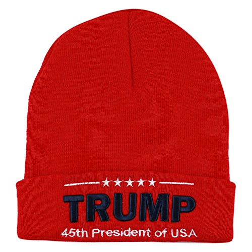 The-Hat-Depot-Exclusive-3D-Trump-Skull-Knit-Beanie-Cap-45th-President-Inauguration