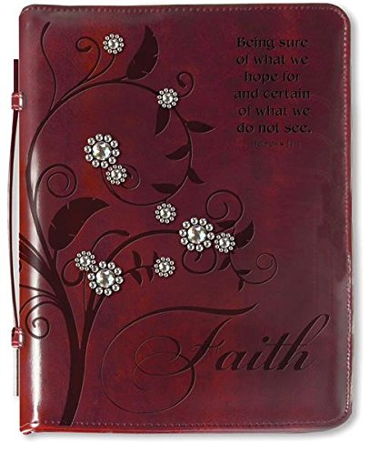- Divinity Boutique Tree of Faith with Gems (M) Bible Cover