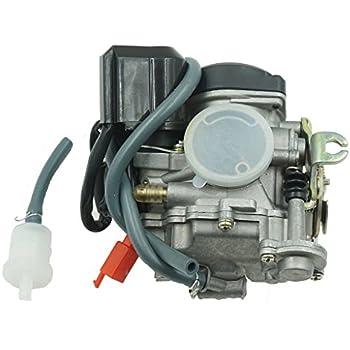 51V5Iz2CDrL._SL500_AC_SS350_ amazon com premium myk carburetor 50cc 80cc 4 stroke gy6 engine