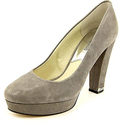 Women's Sabrina Pump Steel Grey 11 M (Michael Kors Suede Platform Pumps)