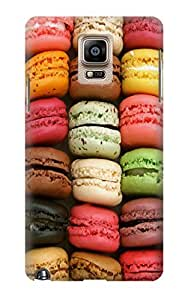 S0080 Macarons Case Cover For Samsung Galaxy Note 4