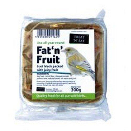 Fruit Suet Treats (Treat N Eat Fat N Fruit Suet Block (10.5 oz) (May Vary))