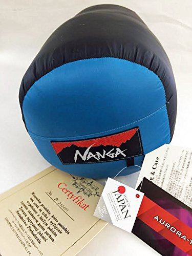 日本製 ナンガ(NANGA) オーロラlight(オーロラライト) 750SPDX レギュラー BLU + IDホイッスルキィリンク付 B06XG3XR2W