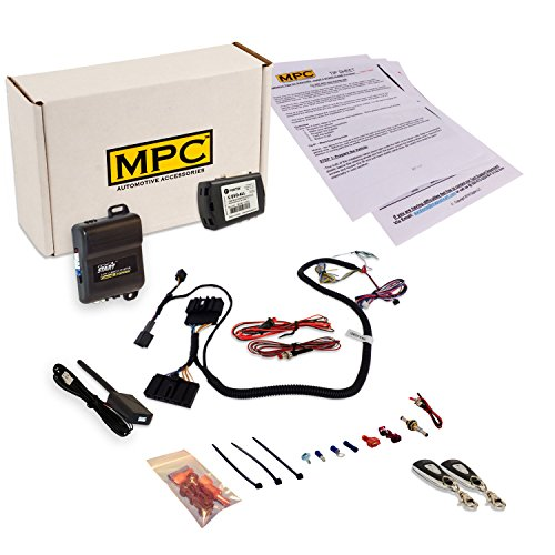MPC Complete 1 Button Remote Start for 2012-2014 Ford Focus - w/T-Harness Prewired to Simplify Installation