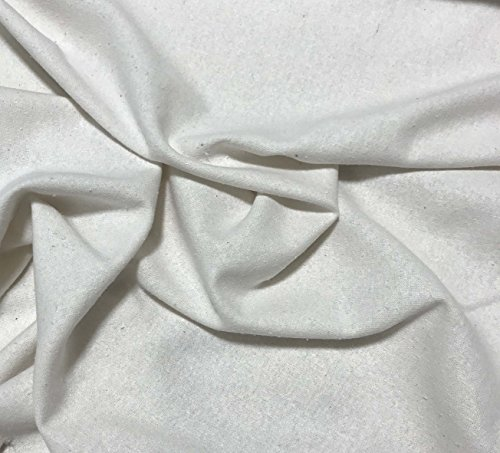 - Natural White - Raw Silk Noil Fabric