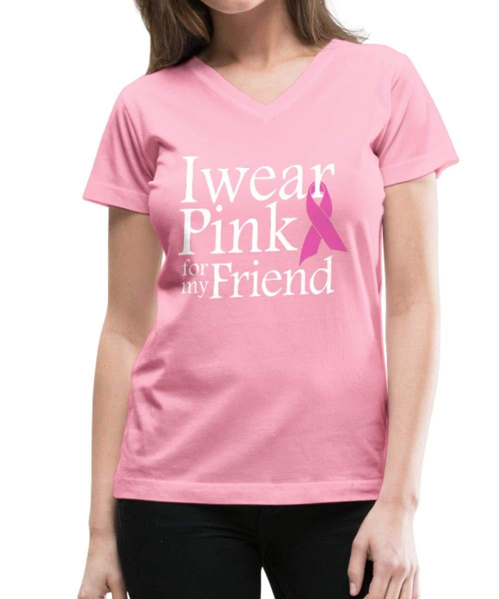 Wear Pink Friend Breast Cancer Awareness T Shirt 1844