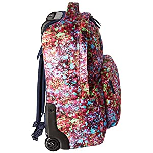 JanSport Women's Wheeled Superbreak Multi Flower Explosion Backpack