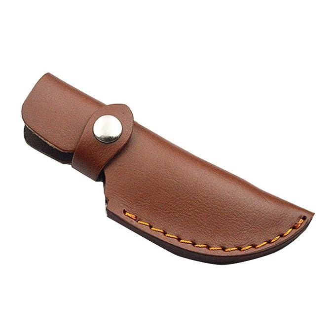 Amazon.com: TOPmountain - Funda de piel para cuchillo fijo ...