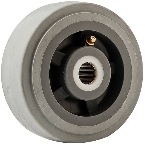 The Fairbanks Company 2524-RC - Series 2500 Thermoplastic Rubber, Roller Bearing, 300 lb. Load Capacity, 4