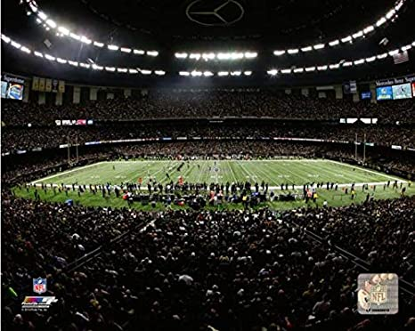 Mercedes Benz Superdome New Orleans Saints Stadium Photo (11u0026quot; ...
