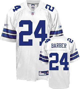 promo code 5da73 6e98d Amazon.com : Marion Barber Jersey: Reebok White Replica #24 ...