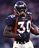 TERRELL DAVIS DENVER BRONCOS 8X10 SPORTS ACTION PHOTO (A)