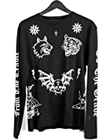 "Caviar Cartel SSUR ""Prisoner"" Long Sleeve T-Shirt (Black) Men's Graphic Tee"
