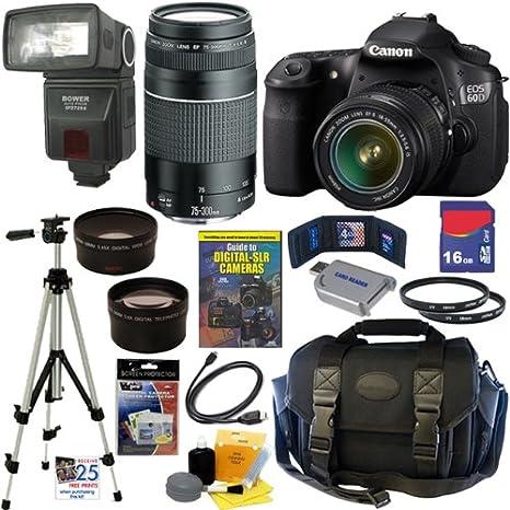 Canon EOS 60d cámara réflex digital 18 MP CMOS con EF-S 18 - 55 mm ...