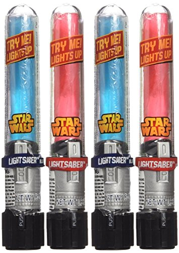 Disney's Star Wars Light Up Lightsaber Candy Suckers