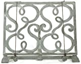 cast iron cookbook stand - Esschert Design C8031 Cookbook Stand - Gray Finish