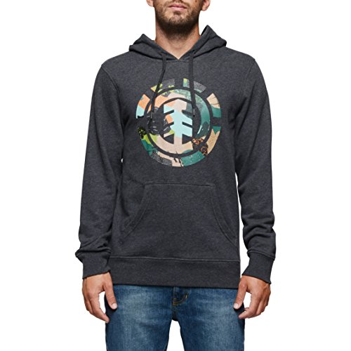 Element Men's Cut Out Icon Pullover (Element Hooded Pullover)