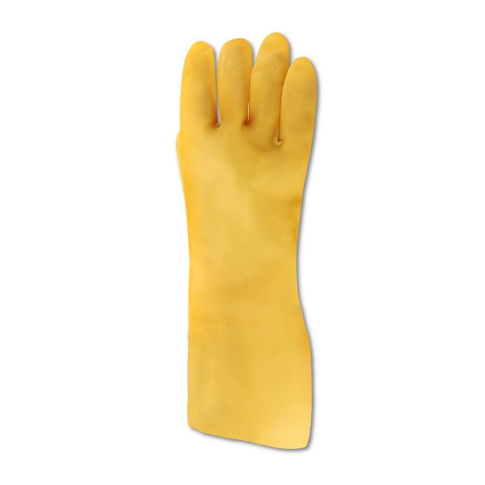 MAPA TRIonic E-194BPK Tri-Polymer Glove, Chemical Resistant, 0.020'' Thickness, 14'' Length, Size 6, Non Pigmented (Bag of 12 Pairs)