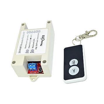 magideal Modul Relais Schalter Wireless Fernbedienung: Amazon.de ...