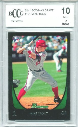 Bowman Draft Trout Rookie Graded product image