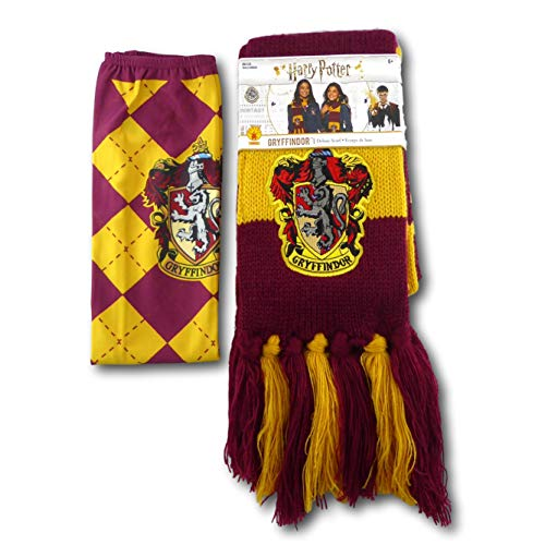 Rubie's Harry Potter House Socks and Scarf Set - Officially Licensed (Gryffindor) -