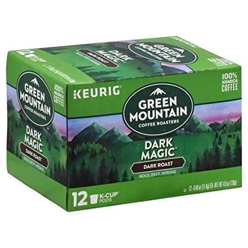 Expect More Green Mountain Coffee Dark Magic K-Cup Packs Coffee 12 ct pack of 6