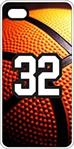Basketball Sports Fan Player Number 30 White Rubber Decorative iphone 6 plus Case