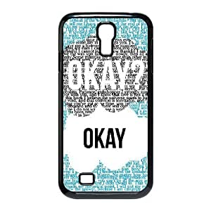Cell phone case Of Okay Okay Bumper Plastic Hard Case For Samsung Galaxy S4 i9500