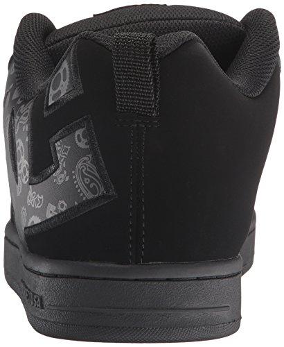 DC Black Skateboarding SE Graffik Shoe Men's Print Court xBrAYxw