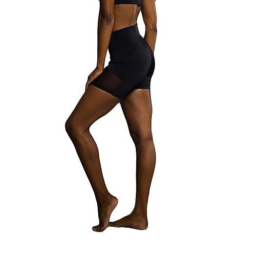 06ca076234aa7 Amazon.com: Ladies'side Patchwork Gauze Hip-Lifting Exercise Yoga ...