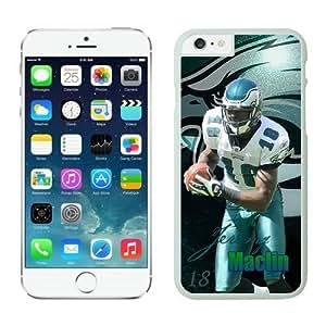 Philadelphia Eagles Jeremy Maclin Case Cover For Apple Iphone 5/5S NFL Cases White NIC14268