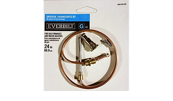 Amazon.com: Universal Thermocouple Kit, 24 in. by Everbuilt: Home & Kitchen