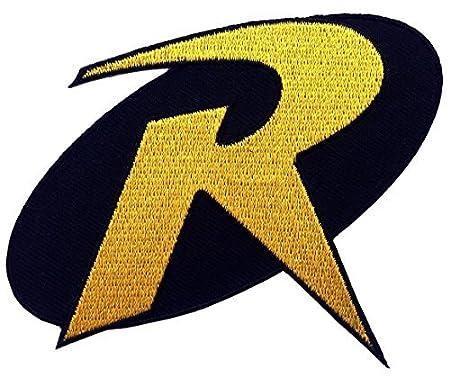 1 X Robin R Uniform Logo Batman Animated Series 35 Costume Patch