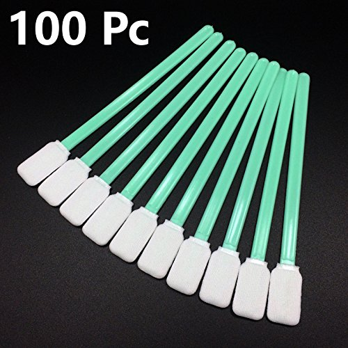 100-pcs-cleaning-swabs-solvent-foam-tipped-for-epson-roland-mimaki-mutoh-printer