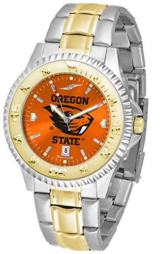 Oregon State Beavers OSU NCAA Mens Two-Tone Anochrome Watch