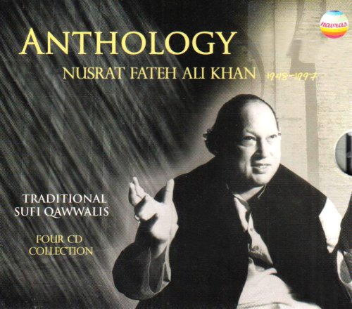 Anthology - Traditional Sufi Qawwalis, Live In London 14 December 1989 (Exclusive Digitally Remastered 4-CD Collection) Nusrat Fateh Ali Khan