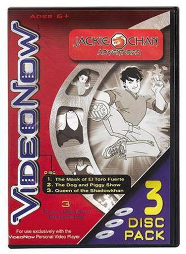 VideoNow Black and White 3-Pack: Jackie Chan
