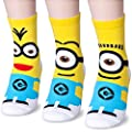 Cute and Fun Despicable Me Minions Character Socks