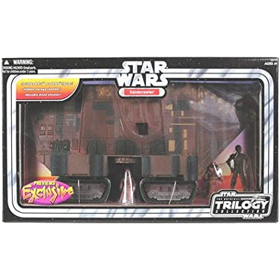 Star Wars Original Trilogy Collection Exclusive Sandcrawler Vehicle Playset: Toys & Games