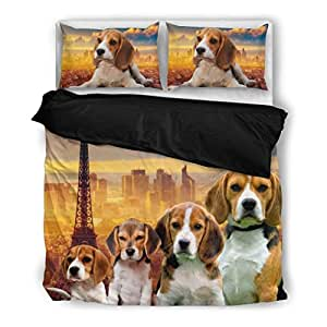 Amazon.com: Amazing Beagle Bedding Set - Dog Lovers Gifts
