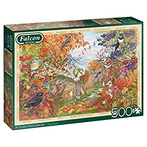 Jumbo 11270 Falcon De Luxe Autumn Hedgerow 500 Pezzi Multicolore