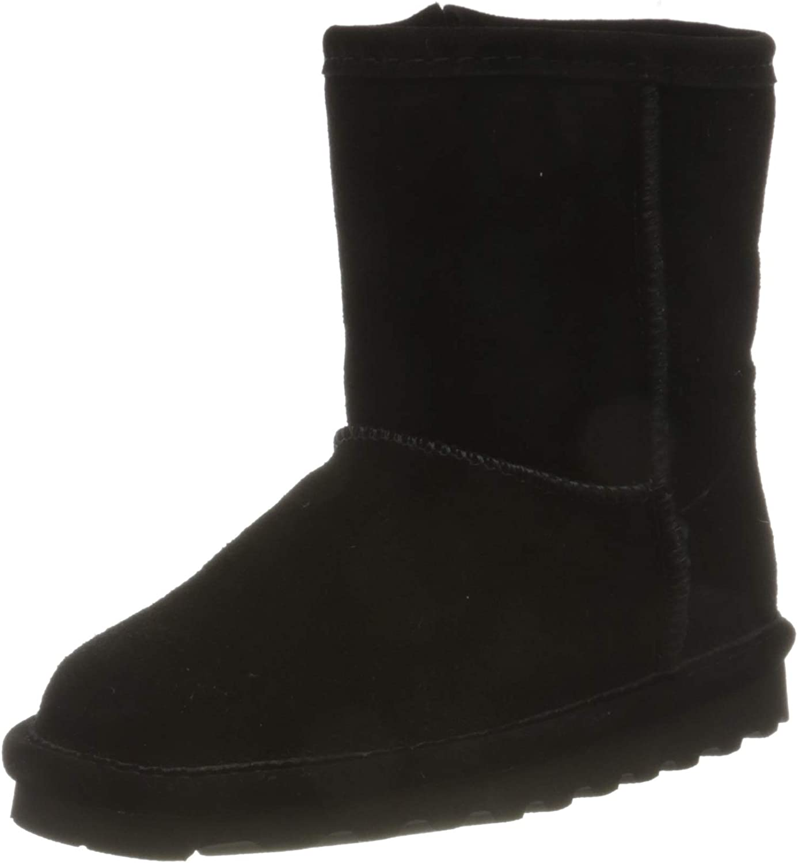 BEARPAW Girls Elle Zipper Boot, Toddler