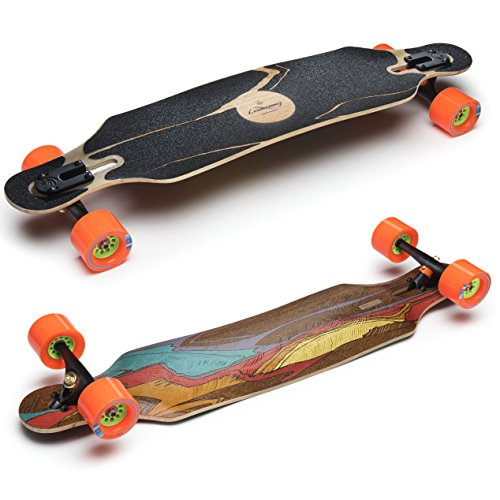 Best Review Of Loaded Boards Icarus Bamboo Longboard Skateboard Complete