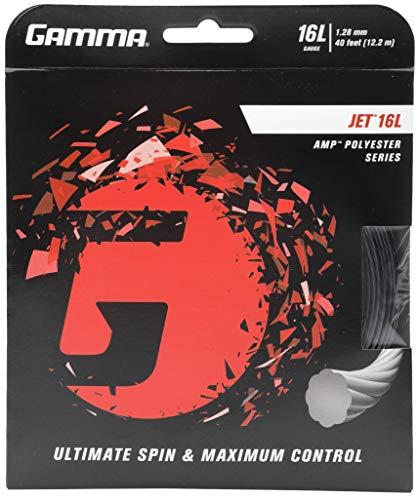 (Gamma Sports AMP JET 16Lg String - Black)