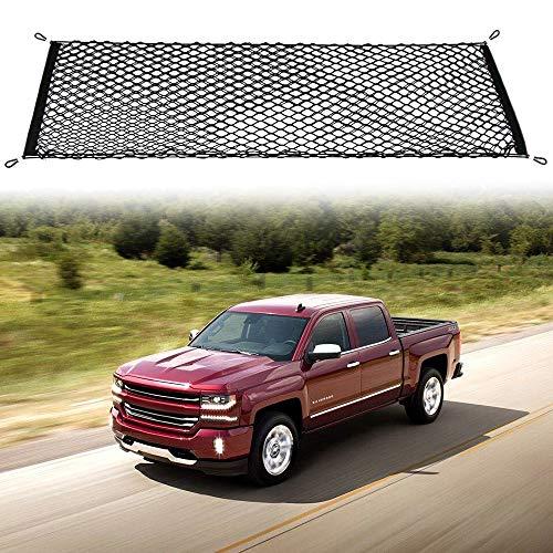 etopmia Truck Bed Cargo Net Truck Net Organizer Fit Chevy Silverado 2012-2018